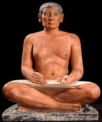 Statue du  « scribe accroupi », ©Musée du Louvre